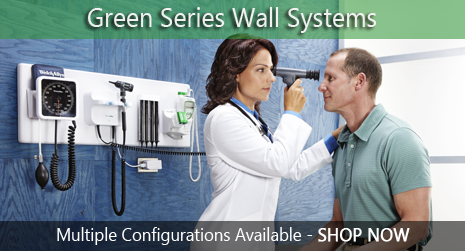 Welch Allyn Green Series Integrated Wall Systems