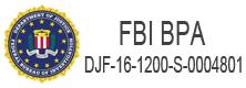 FBI BPA #: DJF-16-1200-S-0004801  Logo