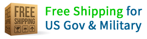 Free Shipping US Govt and Military