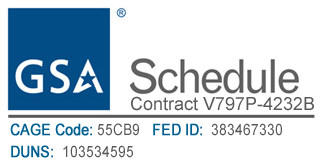 GSA Contract Holder V797P-4232B Logo