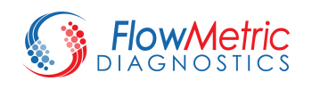 FlowMetric Diagnostics Logo, © FlowMetric Diagnostics