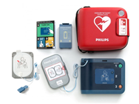 Philips HeartStart FRx Defibrillator Complete with Standard Carry Case