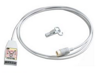 Philips MRx MP2 IntelliVue Monitor 10-Lead ECG Trunk cable-12-Pin Connector  - For 5-Lead and 12-Lead Use - 2 0m - *EMS FAVORITE* Part Number: M1663A