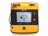 Physio-Control LIFEPAK 1000 AED Defibrillator with ECG Display - Standard Setup with Carry Case, Battery and Electrodes